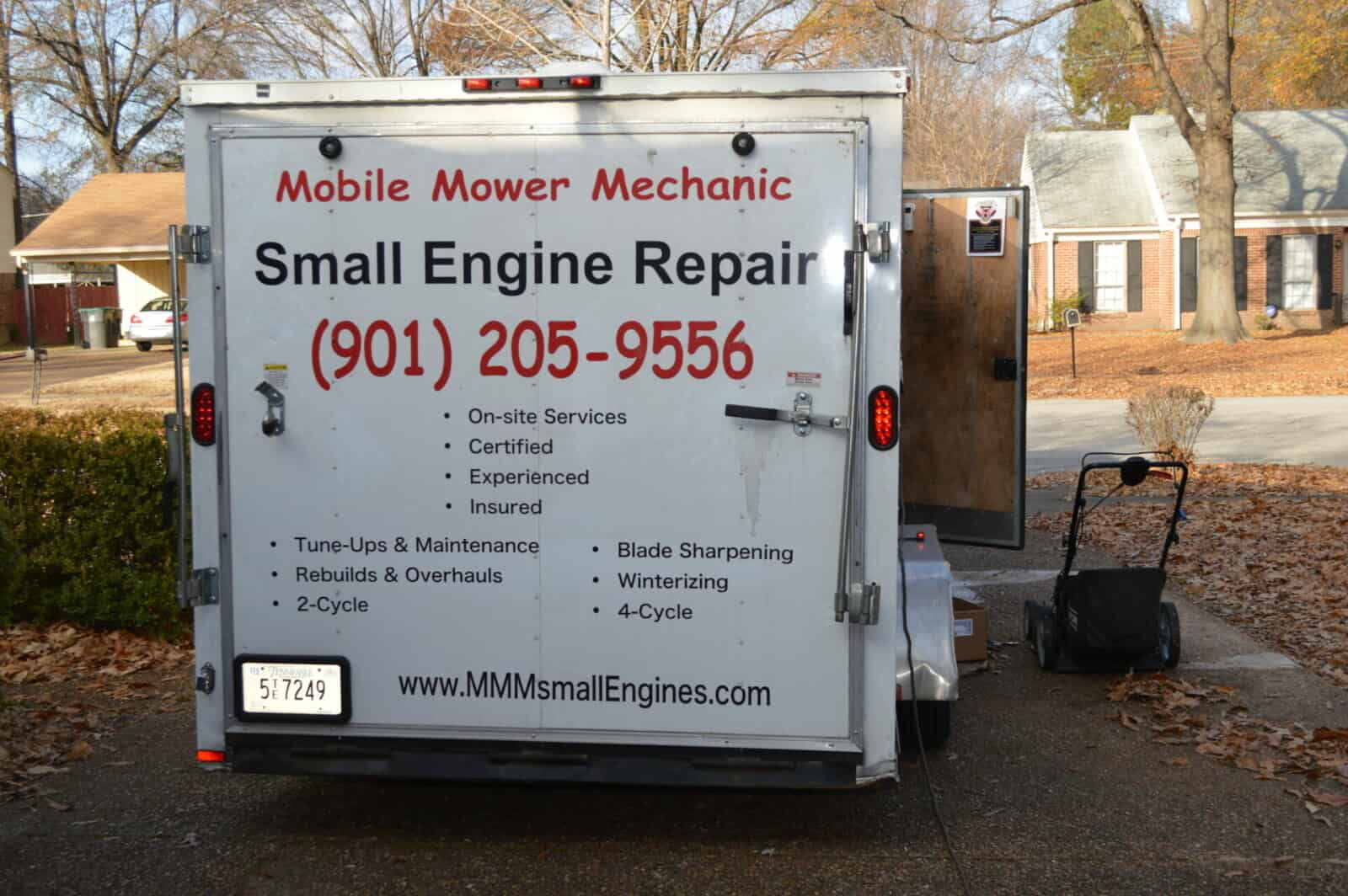 mobile small engine at your home
